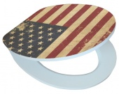 American Flag EDHGAF01 MDF, WC sedátko softclose